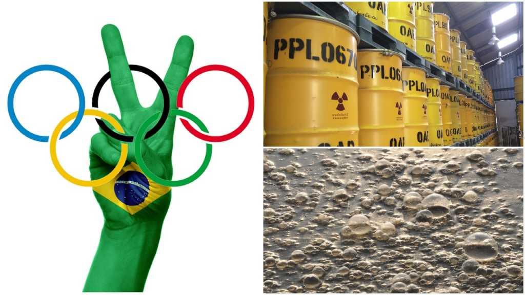 Problemy igrzysk w Rio: Woda w mieście już zakaża, a ISIS chce użyć brudnej bomby