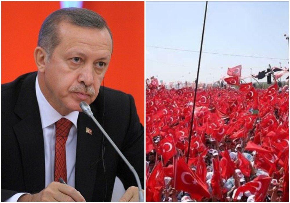 """Miliony za Erdoganem, wierne rzesze. """"Każ nam zginąć, a zginiemy"""""""