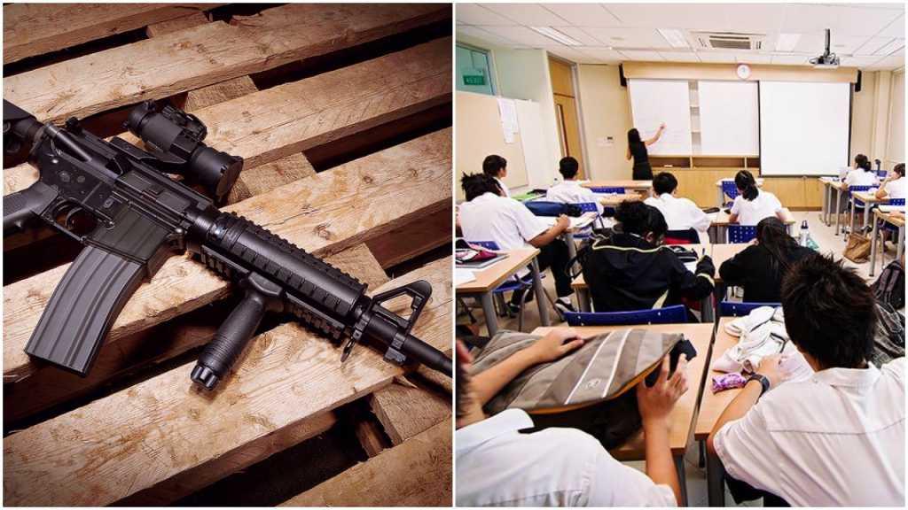 Nowe prawo w Teksasie: Studenci będą mogli chodzić z bronią palną na wykłady