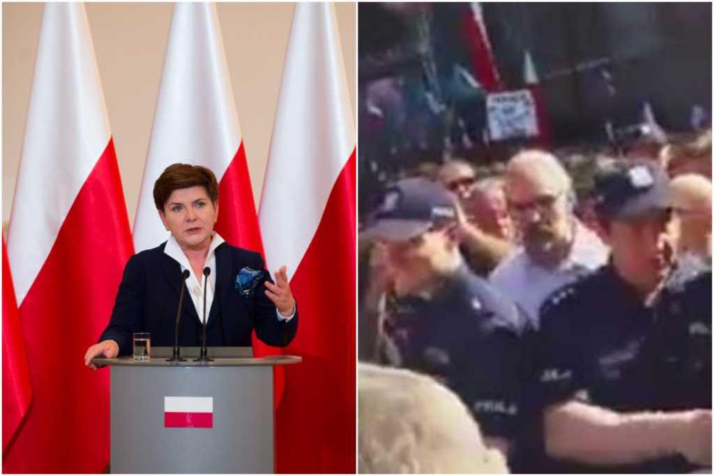 Kontrowersyjne słowa premier Szydło: Obecność KOD na pogrzebie Inki to prowokacja