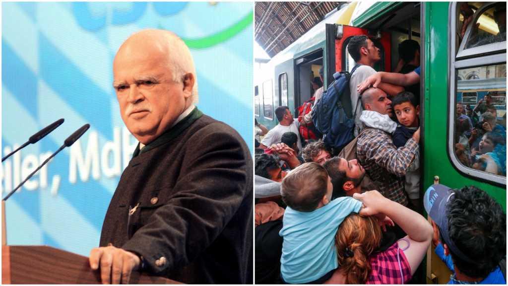 """Bawarski polityk o uchodźcach: """"Powinni pracą nam się odwdzięczyć. Lenistwo demoralizuje"""""""