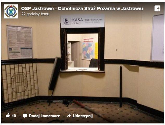 fot. facebook.com/OSP Jastrowie - Ochotnicza Straż Pożarna w Jastrowiu
