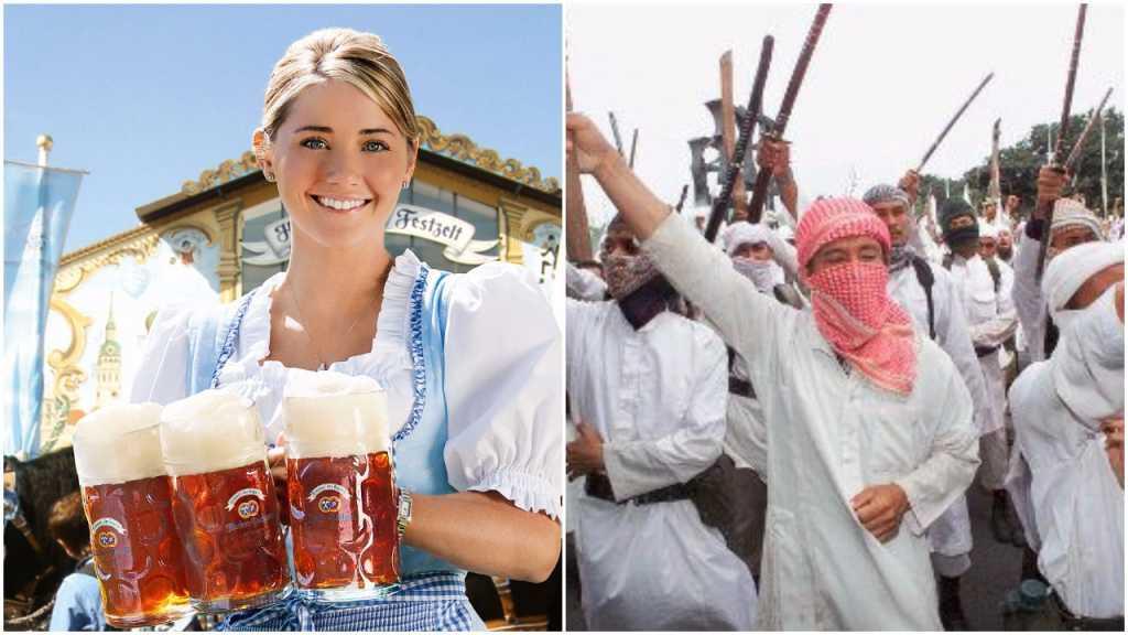 Oktoberfest świeci pustkami. Turyści nie przyjeżdżają i to nie wina piwa