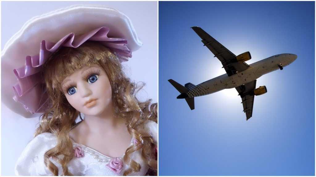Pasażerowie samolotu nie wierzyli. Mężczyzna wykupił miejsce dla... swojej lalki Barbary