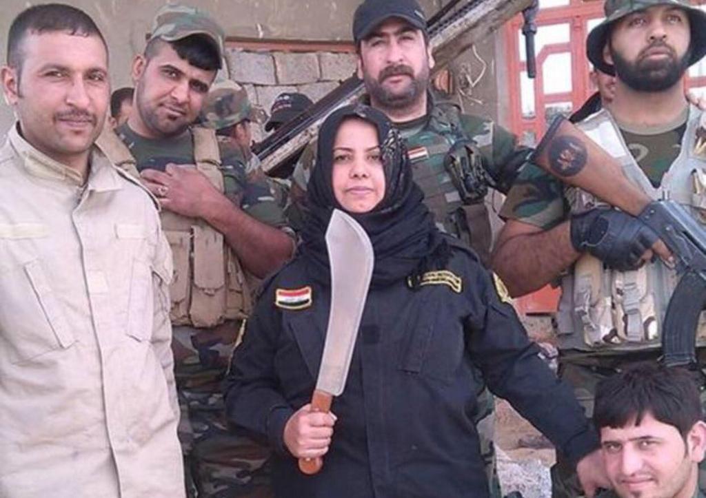 Morduje bojowników ISIS, gotuje ich czaszki i pali ich ciała. 39-latka jest koszmarem dżihadystów