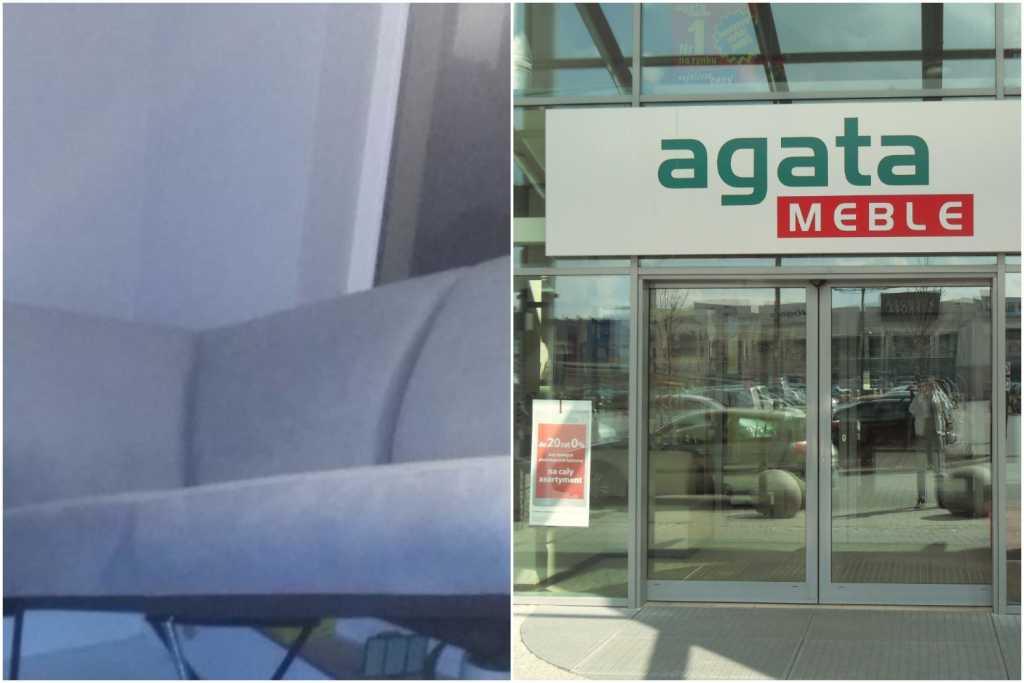 """""""Innowacyjne"""" meble firmy Agata Meble wyrzucą Cię w powietrze. Klient wściekły (FOTO)"""
