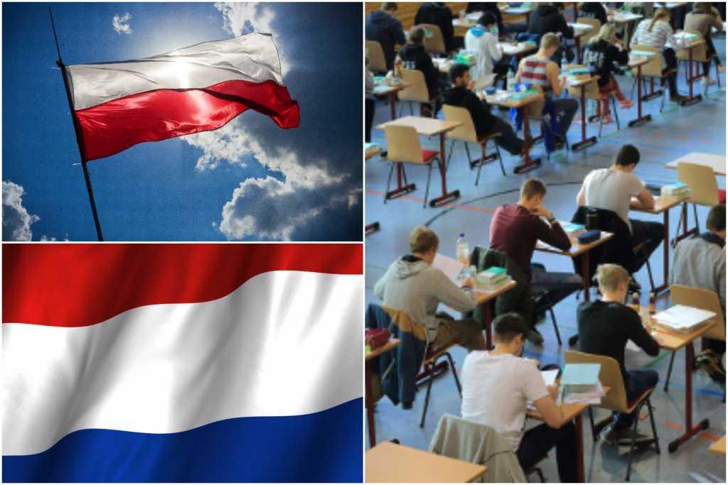 Holenderska młodzież oficjalnie uczy się, że Polska jest przeciwieństwem demokracji (FOTO)