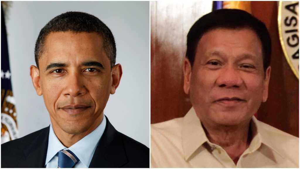 """Międzynarodowy szok. Prezydent Filipin o Obamie: """"Skurw*syn jeden"""""""