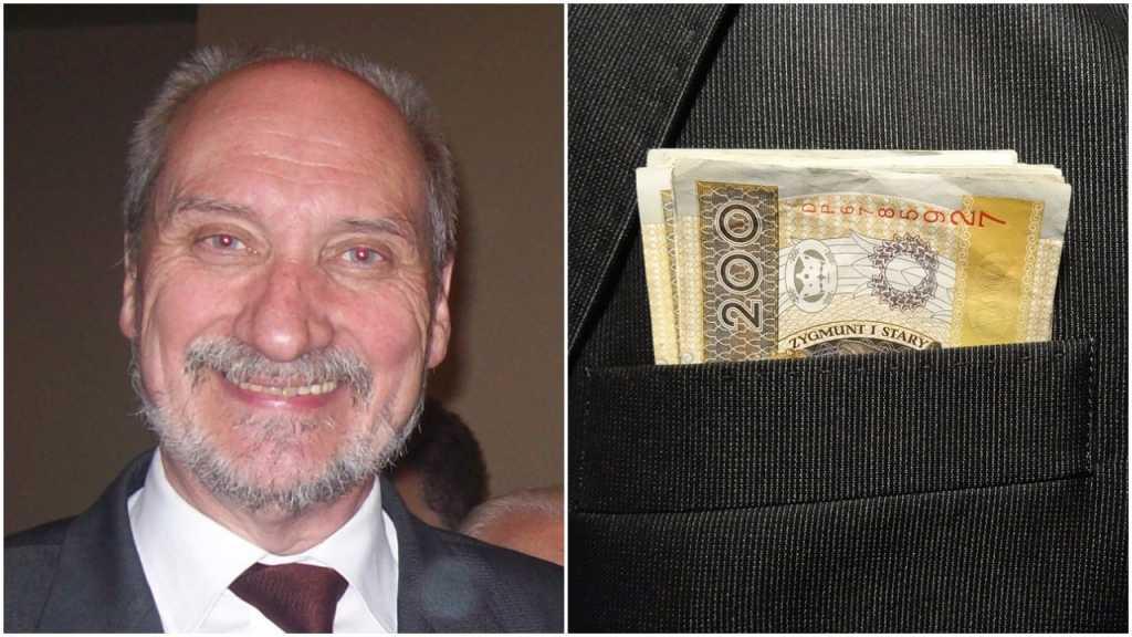 """Macierewicz zniósł limit swoich wydatków. Teraz będzie płacił """"według potrzeb"""""""