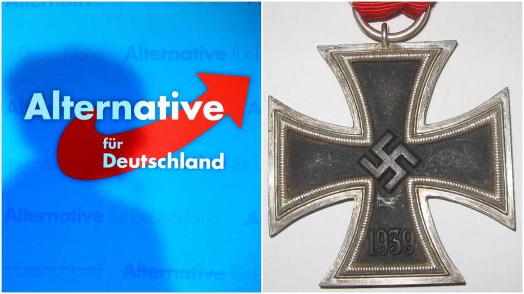Czołowy polityk AfD sprzedaje nazistowskie ordery ze swastykami