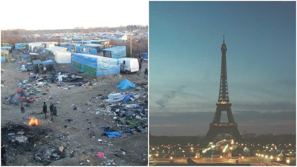 Z Calais do stolicy. Setki nowych namiotów imigrantów stanęło w Paryżu (video)