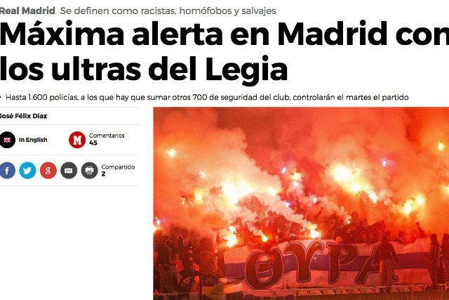 Panika w hiszpańskich mediach przed Polakami. Dziennikarze skompromitowali się tym zdjęciem