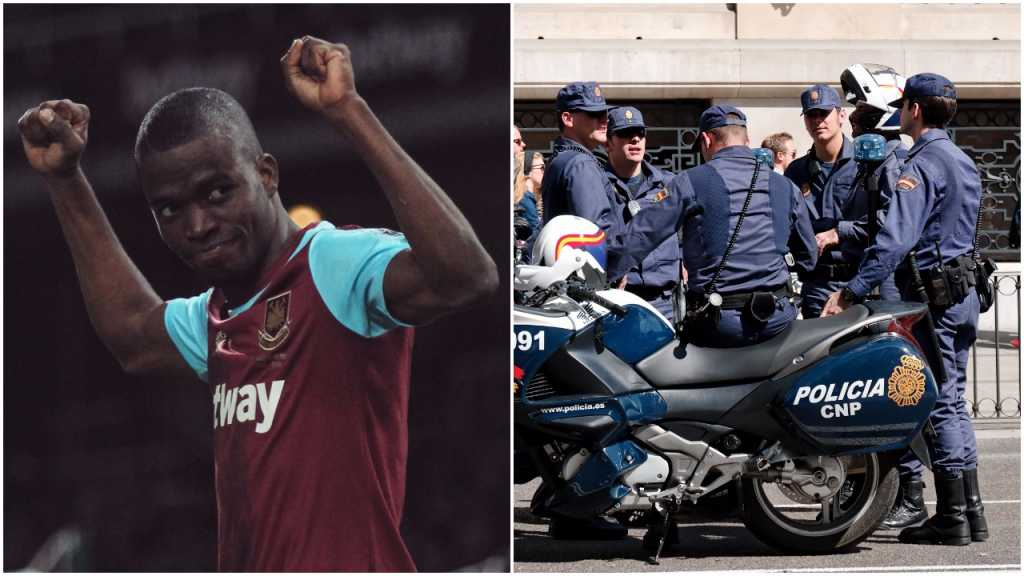 Piłkarz udawał kontuzję na boisku, by karetką uciec przed policją