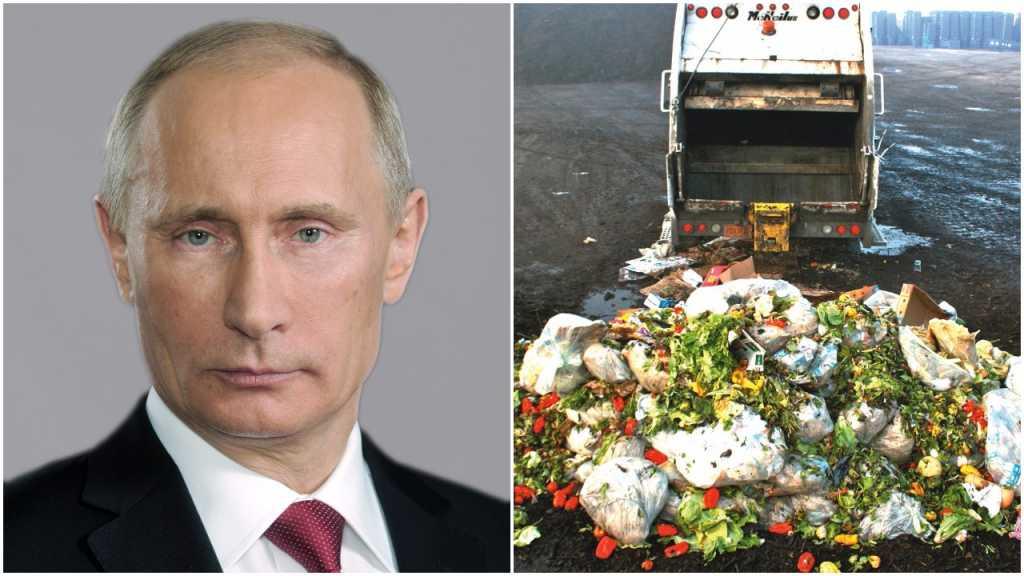 Rosja: W przeciągu roku zniszczono ponad 8 tys. ton żywności. To odpowiedź Kremla na sankcje