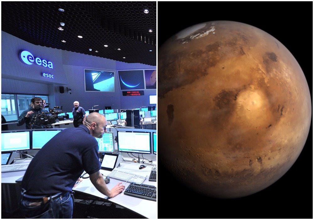 Wielki sukces misji ExoMars. Europejska sonda wylądowała na Marsie