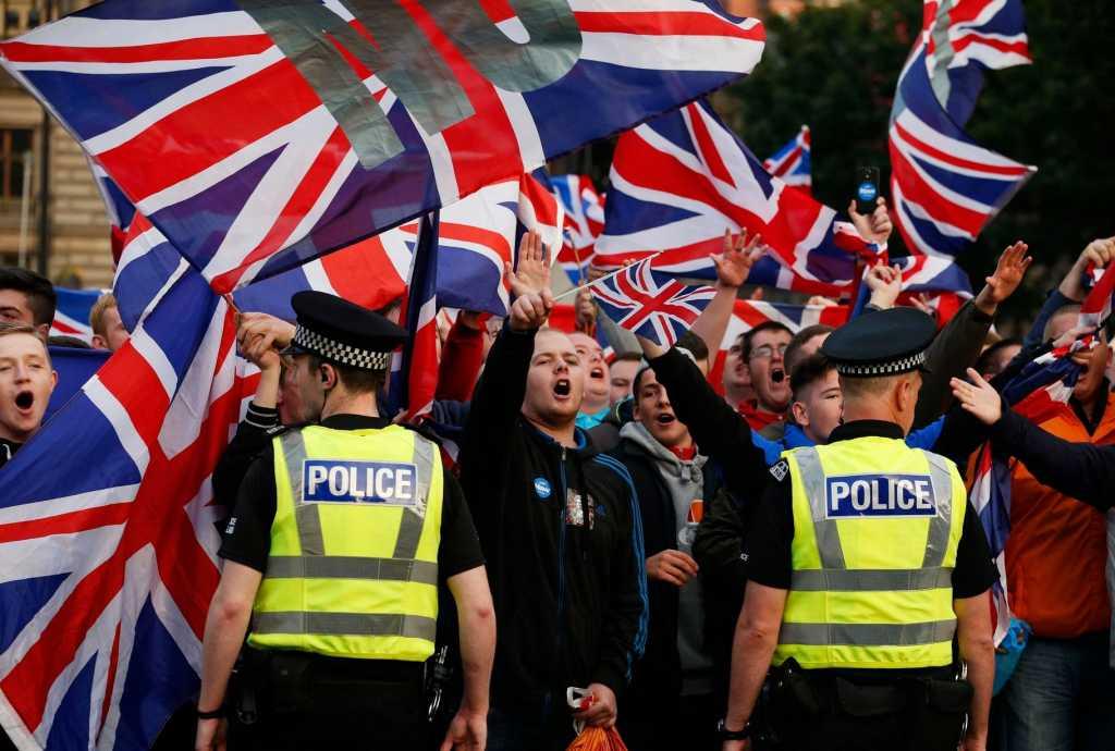 UK: Po referendum w sprawie Brexitu rośnie liczba przestępstw z nienawiści