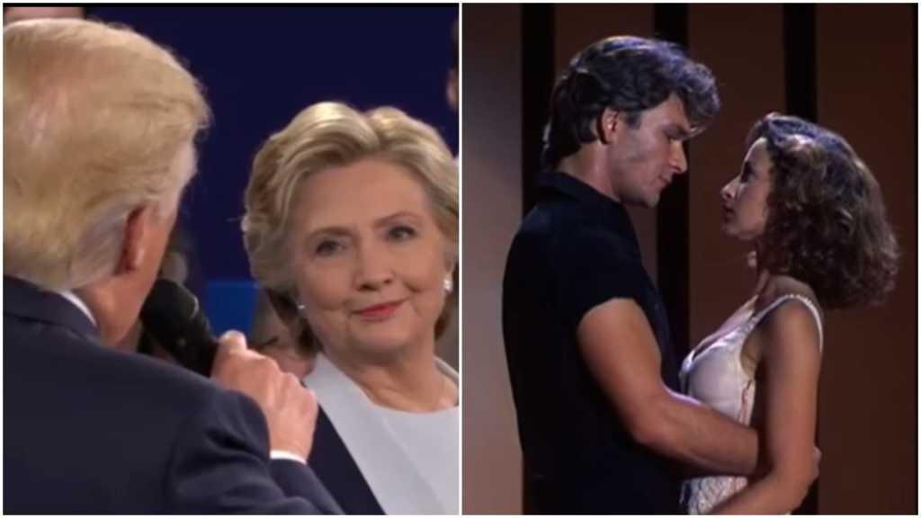 Zakochani Clinton i Trump. Lepszego filmu z kampanii nie zobaczycie (video)