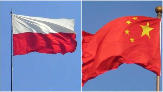polska chiny flaga