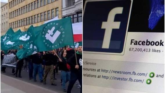 Narodowcy idą na wojnę z Facebookiem.