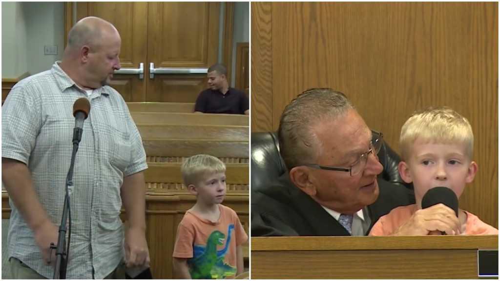 USA: Sąd kazał chłopcu wymierzyć karę własnemu ojcu (video)