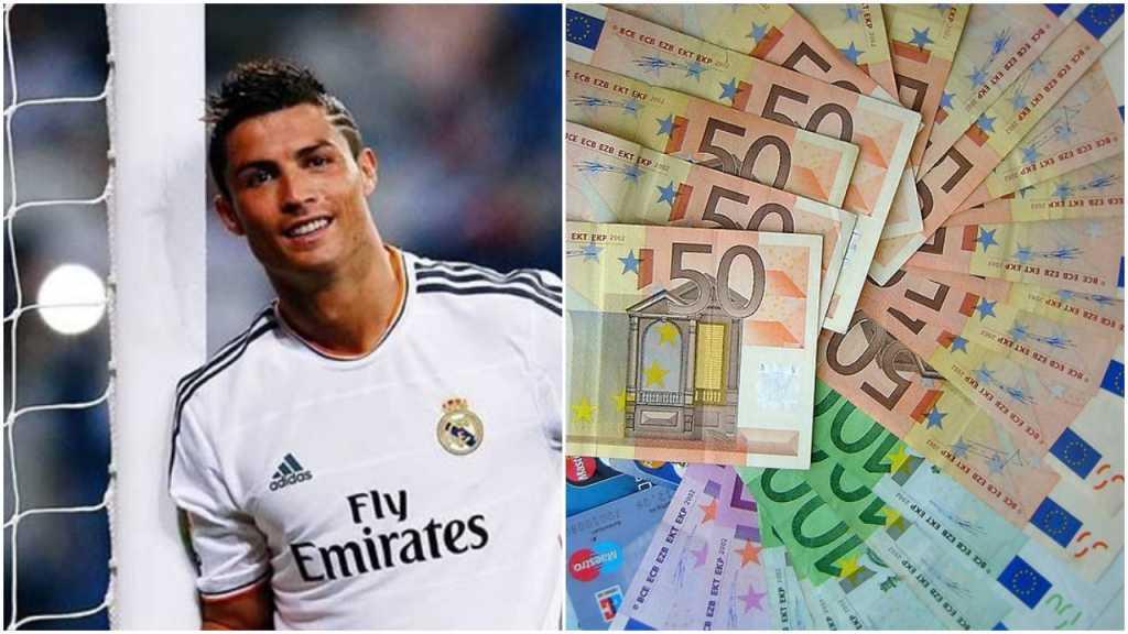 Zarobki w piłce to już przesada? W 15 minut Ronaldo zarabia więcej niż Polak w miesiąc