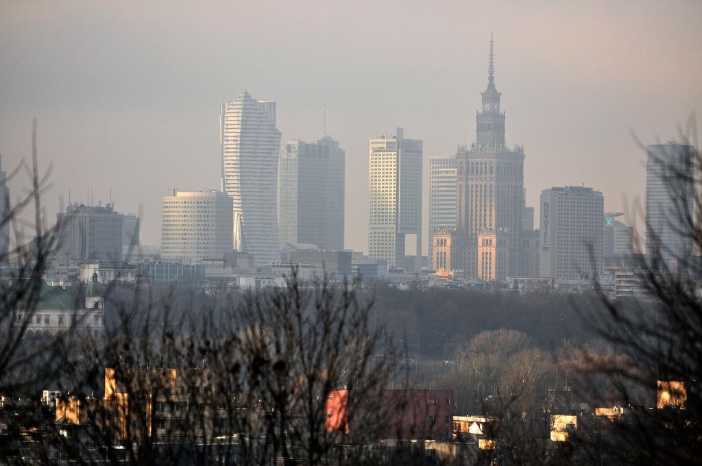 Morderczy smog zaatakował Warszawę