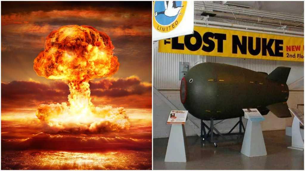 Nurek znalazł zgubioną 66 lat temu bombę atomową. Myślał, że to UFO
