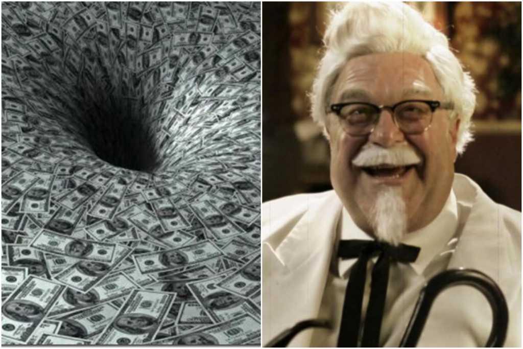W KFC go wyśmiali, jako jedyny nie dostał pracy. Został miliarderem
