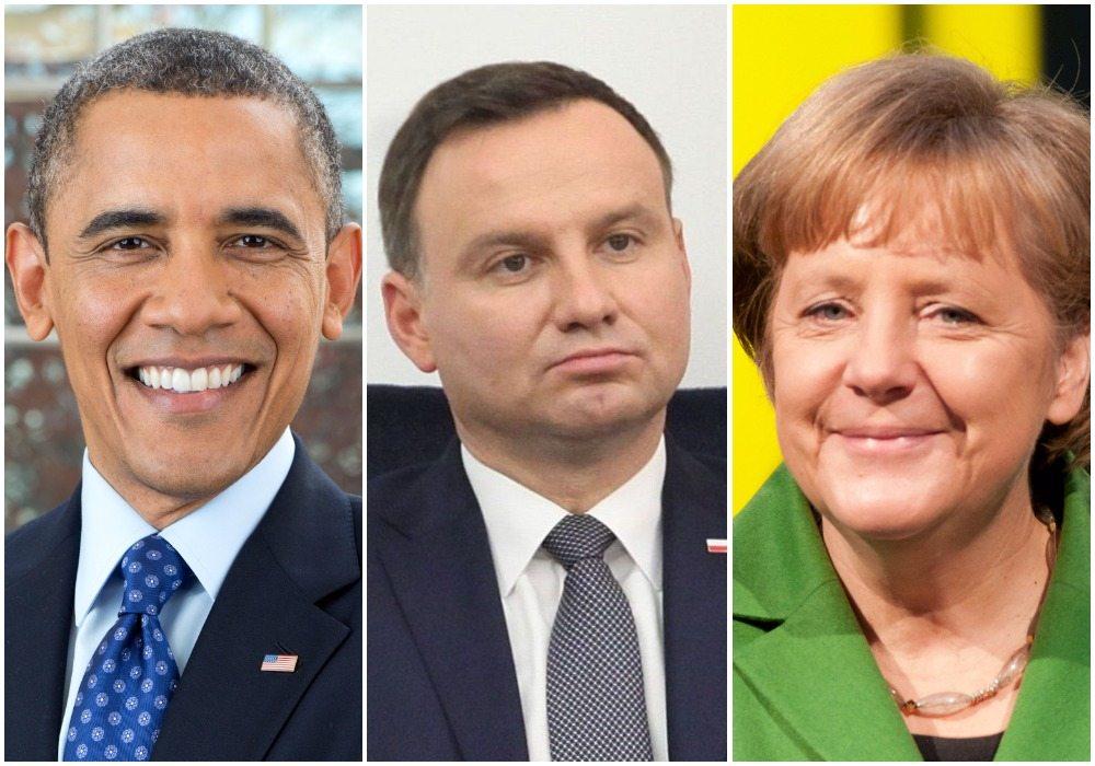 Polski prezydent znieważony. Andrzej Duda niechciany na pożegnaniu z Obamą w Berlinie