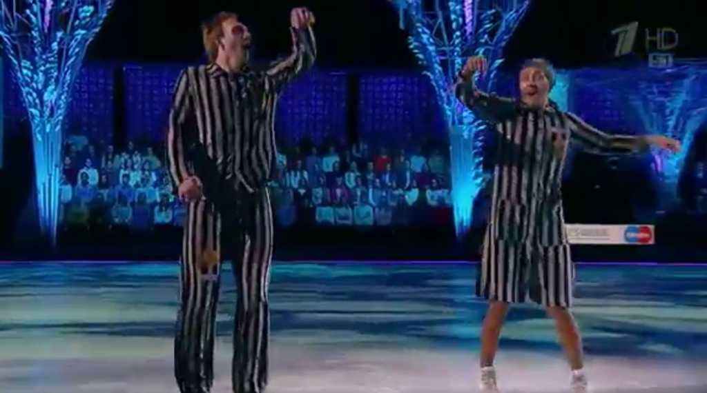 """Holokaust w """"Gwiazdy Tańczą na lodzie"""" (VIDEO)"""