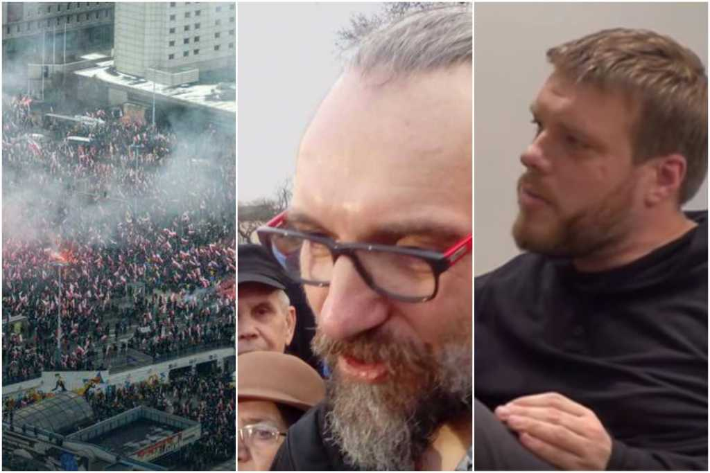 Kijowski chce teraz maszerować z narodowcami. Zandberg wściekły