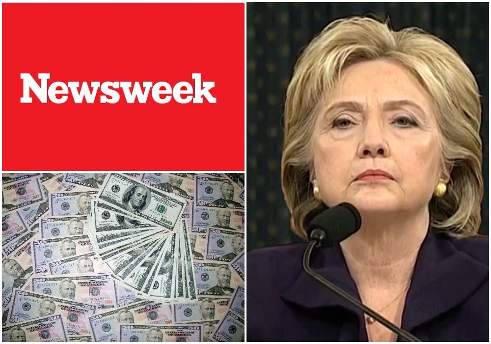Głupia wpadka Newsweeka. Byli pewni zwycięstwa Clinton przez co stracili ogromne pieniądze