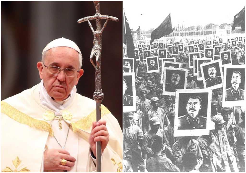 Papież Franciszek: To komuniści myślą jak prawdziwi chrześcijanie