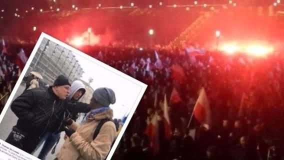Wyborcza przeprowadziła prowokację na Marszu Niepodległości. Prawica oburzona