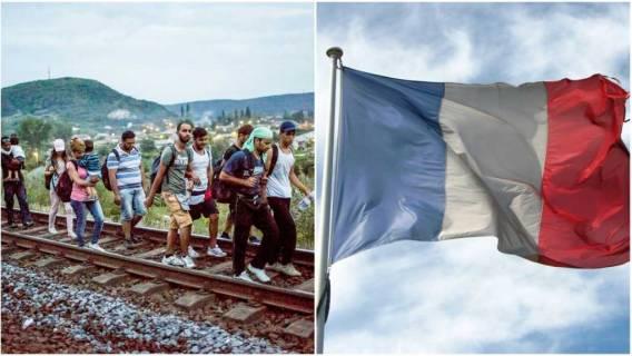 Uchodźcy Francja