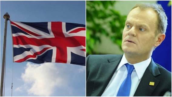 Furia w Wielkiej Brytanii. Brytyjczycy wściekli po słowach Donalda Tuska