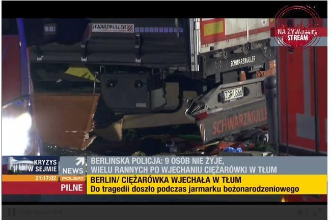 Zamach w Berlinie: Nowe fakty ws. polskiego kierowcy ciężarówki