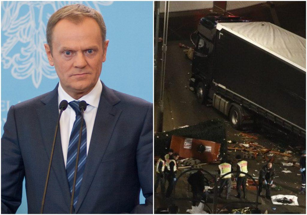 Kukiz komentuje zamach w Berlinie. Dostało się Tuskowi
