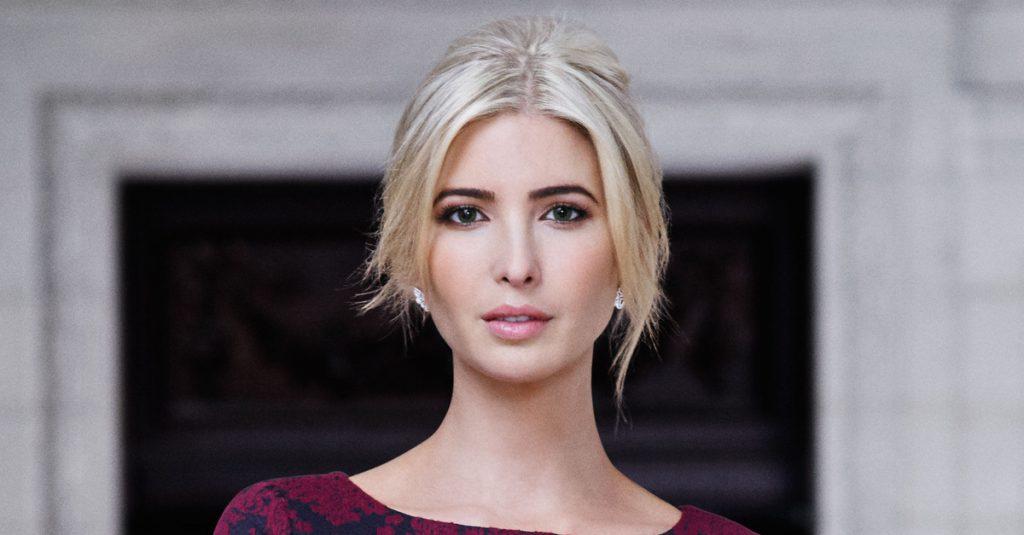 Córka Trumpa póki co będzie... pierwszą damą