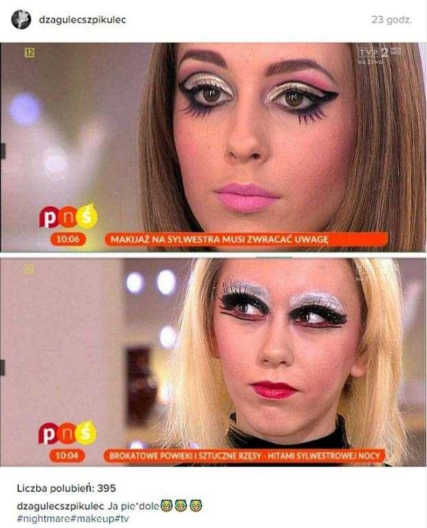 Oni Tak Na Poważnie Tak Wygląda Makijaż Sylwestrowy Wg Tvp Video