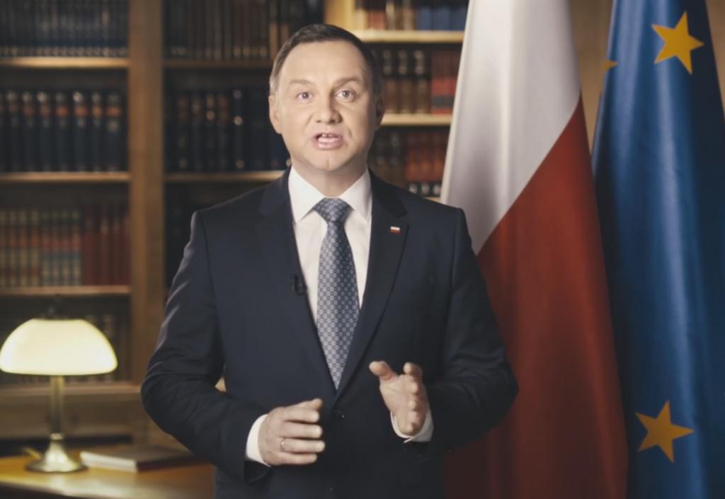 Specjalne orędzie prezydenta Andrzeja Dudy (video)