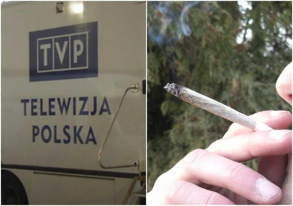 """Dziennikarze TVP narzekają. """"Nie palmy narkotyków w pracy, za duży smród!"""""""