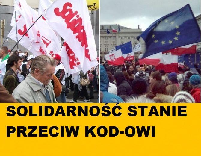 """Solidarność stanie przeciwko KOD-owi. """"Policzymy się"""""""