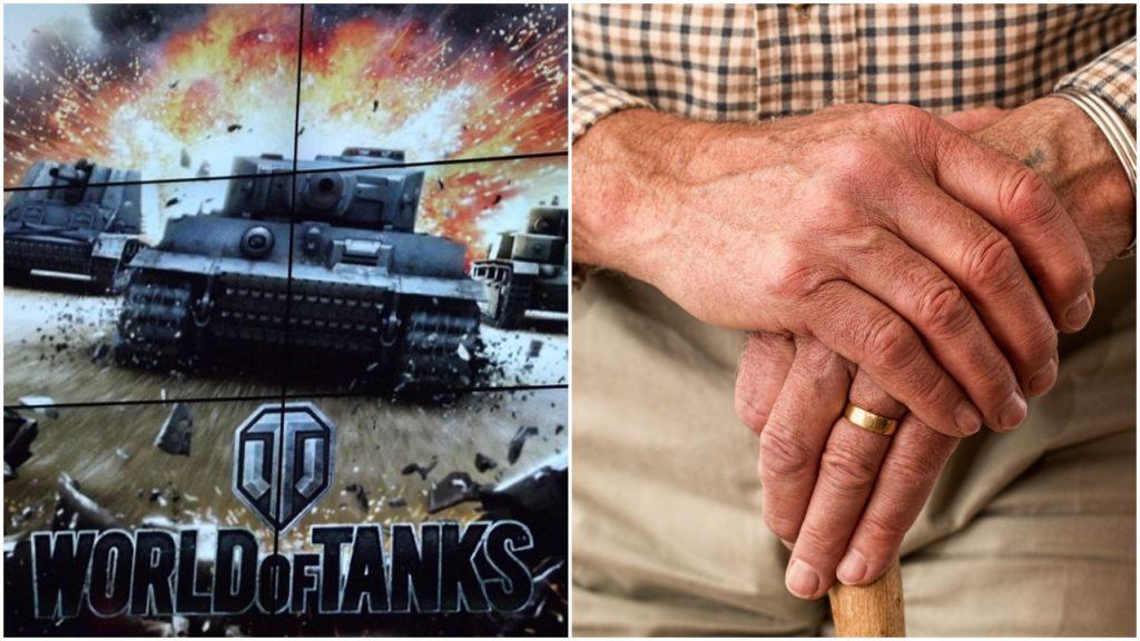 74-latek podbija serca graczy. Jako Hubdon jest czołgistą w World of Tanks