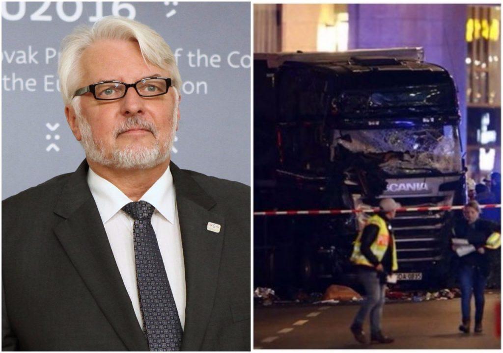 """Zamach w Berlinie. Właściciel ciężarówki wściekły na polskie MSZ. """"Zero pomocy!"""""""