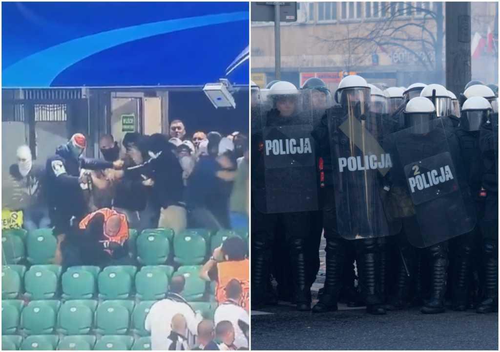 Policja chce setek tysięcy złotych od pseudokibiców (video)