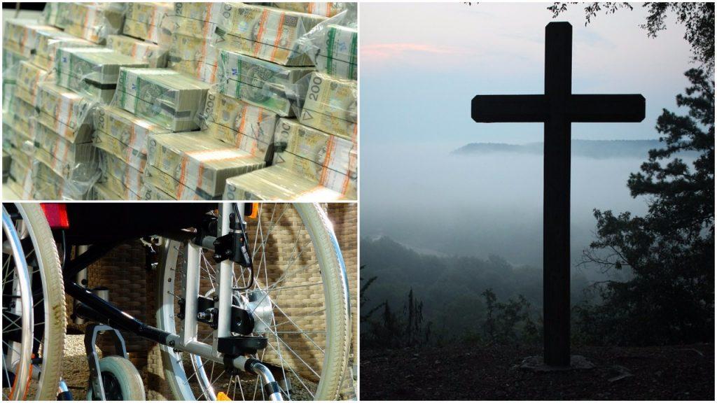 Ksiądz ukradł miliony złotych dla niepełnosprawnych. Kościół nie zamierza oddawać