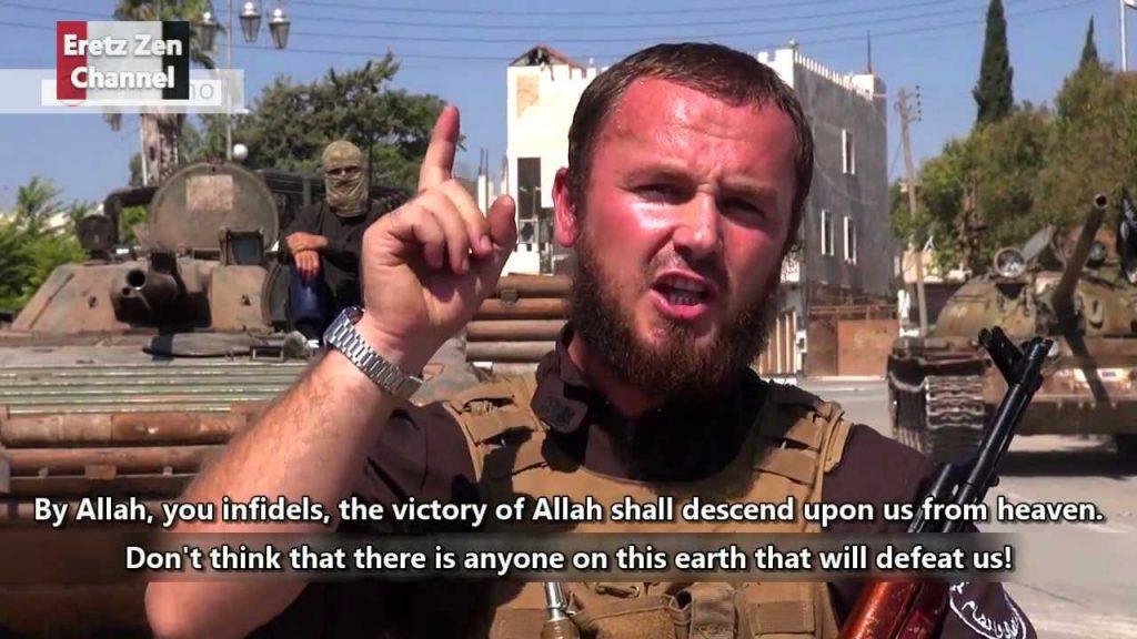 Jakim cudem na to pozwolono?! Przywódca ISIS JEST W EUROPIE z mnóstwem ludzi i planuje...