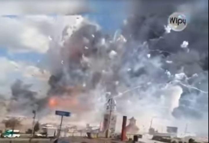 PILNE: Makabra w Meksyku. Eksplozja na kultowym targu fajerwerków, mnóstwo ofiar (VIDEO)