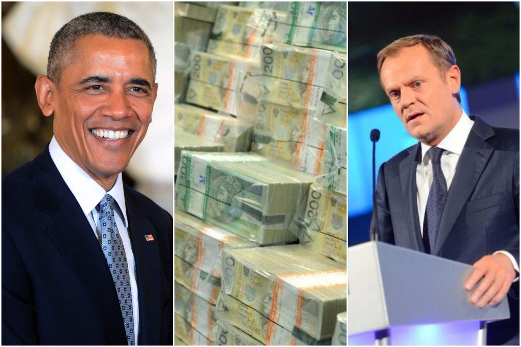 Ile najwięcej zarabiają politycy? W czołówce Obama i Tusk